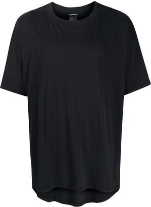 Ann Demeulemeester loose fit asymmetric hem T-shirt