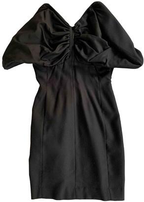 Jacquemus L'Amour d'un Gitan Black Wool Dresses