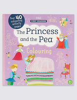 Marks and Spencer The Princess & the Pea Colouring Book