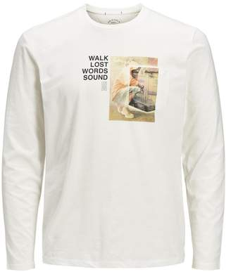Jack and Jones Graphic Long Sleeve T-Shirt