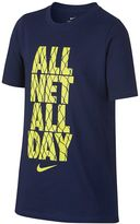 Nike Boys 8-20 All Net All Day Tee