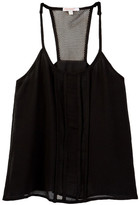 Ella Moss Beverly Pleated Woven Tank (Big Girls)