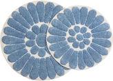Asstd National Brand Chesapeake Merchandising Bursting Flower 2-pc. Round Bath Rug Set