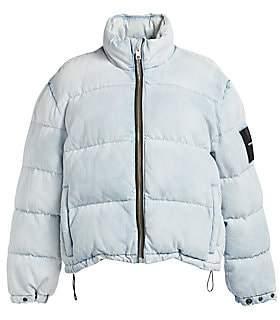 Alexander Wang Women's Denim Puffer Jacket