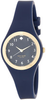 Kate Spade Women&s Rumsey Silicone Strap Watch