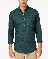 Club Room Men's Big and Tall Gingham Long-Sleeve Shirt