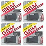 Personna Gem Super Stainless Steel Refill Blades, 10 ct. (Pack of 4) + FREE Schick Slim Twin ST for Sensitive Skin