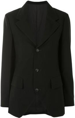Yohji Yamamoto Single Breasted Blazer Jacket