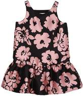 Milly Minis Flowers Printed Twill Party Dress