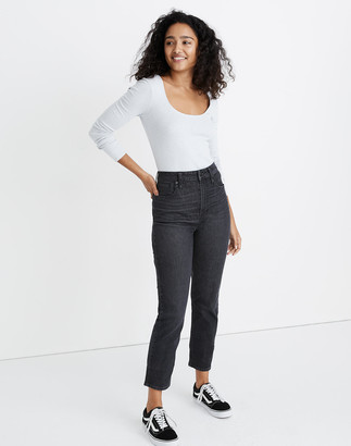 Madewell The Petite Curvy Perfect Vintage Jean in Sumner Wash