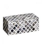 Mela Artisans Fantasy In Grey Decorative Box, Medium