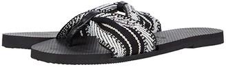 Havaianas You St. Tropez Fita Sandal (Black) Women's Shoes