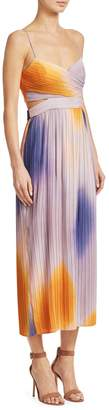 A.L.C. Sienna Pleated Ombre Dress