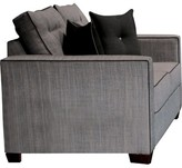 Hokku Designs Urban Valor Loveseat Upholstery: Gray