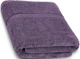 Ringspun Cotton Bath Towels (Plum, 30 x 56 Inch) Luxury Bath Sheet Perfect for Home, Bathrooms, Pool and Gym Cotton by Utopia Towels