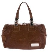 Balenciaga Distressed Leather Shoulder Bag