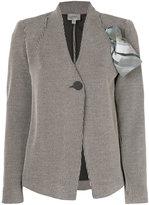 Armani Collezioni scarf detail blazer