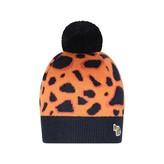 Paul Smith JuniorGirls Leopard Palila Bobble Hat