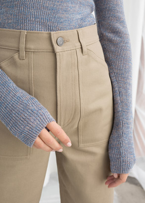 And other stories Workwear Culotte Pants