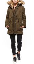 Dex Hooded Parka Coat