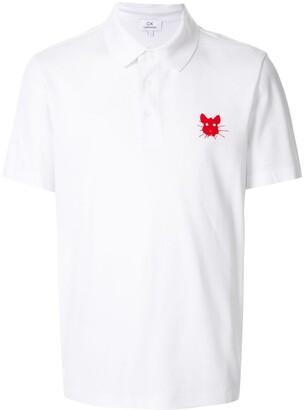 CK Calvin Klein Rat Face Print Polo Shirt