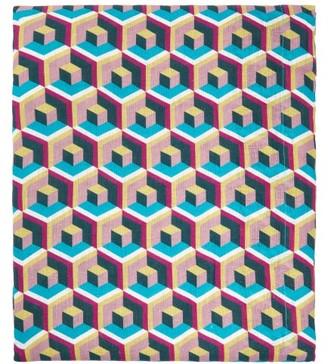 La DoubleJ Housewives 280cm X 180cm Linen Tablecloth - Blue Multi