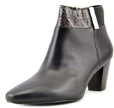 Alfani Palessaant Women Round Toe Synthetic Black Ankle Boot.