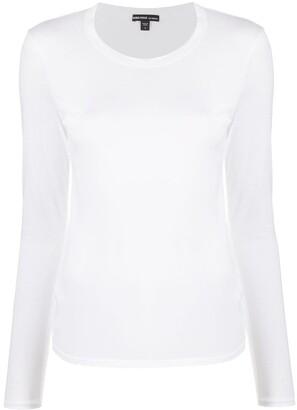 James Perse longsleeved cotton T-shirt