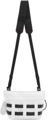 Acne Studios White Ripstop Messenger Bag