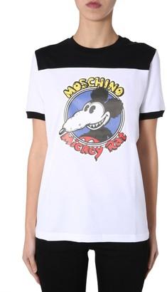 Moschino Mickey Rat T-Shirt