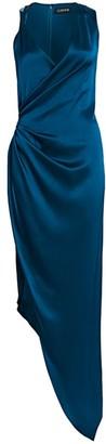 Cushnie Draped Silk Gown