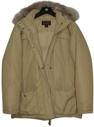 Woolrich Camel Cashmere Jackets & Coats