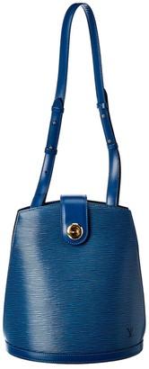Louis Vuitton Blue Epi Leather Cluny