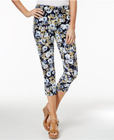 Charter Club Bristol Printed Capri Jeans, Created for Macy's