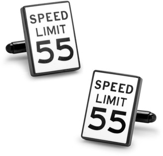 Cufflinks Inc. Speed Limit Sign Cuff Links
