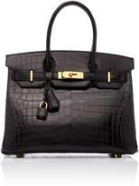 Heritage Auctions Special Collections Hermès 30cm Black Shiny Croc Birkin