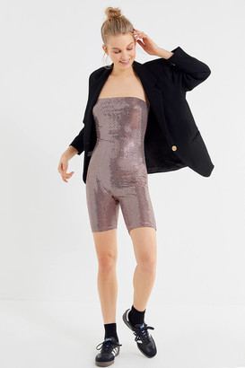 Out From Under Jane Sequin Romper