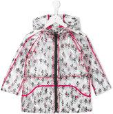 Kenzo cactus print raincoat