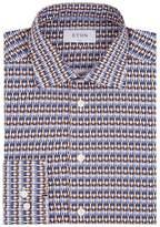 Eton Print Slim-Fit Poplin Shirt