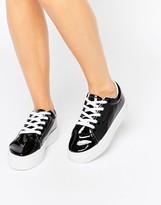 London Rebel Flatform Lace Up Sneaker