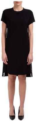 Karl Lagerfeld Paris Snap Detailed Cady Dress