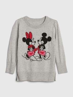 Gap babyGap   Disney Minnie Mouse and Mickey Mouse Tunic Sweater
