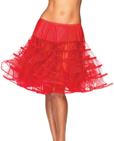 Leg Avenue Red Petticoat Skirt