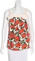 See by Chloe Sleeveless Floral Print Top w/ Tags