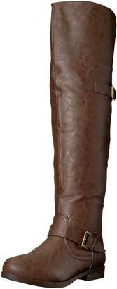 Brinley Co. Women's Sugar Over The Knee Boot