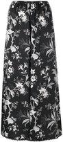 McQ by Alexander McQueen floral print skirt - women - Polyester - 42