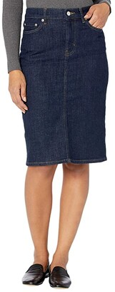 Lauren Ralph Lauren Denim Skirt (Rinse Wash) Women's Skirt