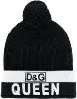 Dolce & Gabbana Queen bobble hat