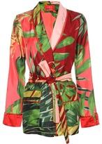 For Restless Sleepers Silk Pyjama Blouse