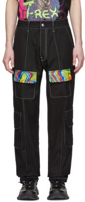 GCDS Black Acid Trousers